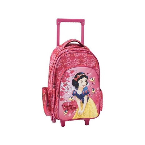 Σακίδιο Trolley Graffiti 3θέσεων Princess Snow White 181251