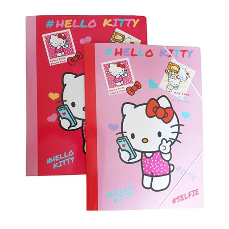 Ντοσιέ Λάστιχο 25cm X 35cm Graffiti Hello Kitty Kids 16810